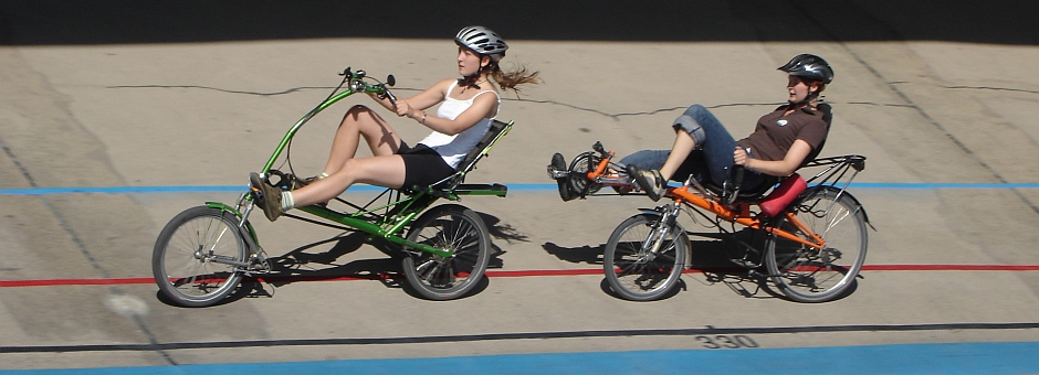 at the Leipzig velodrom to the recumbent event 2006